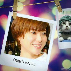 上野樹里ちゃんとニャム!!(`Δ´) 上野樹里様応援ニャム!!  ゆめさんが貼っていた画像からです。 つ