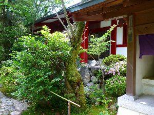 一枚の写真から 今日も有難うございました。  写真は生駒山に行きます時中腹のお寺です。