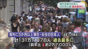 財政破綻 NHKニュース 2016年06月09日 外務省が去年10月の時点で、海外に3か月以上滞在したり、 永