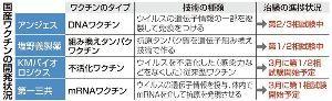 4563 - アンジェス(株) 国産ワクチン開発の4社は...