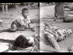 慰安婦問題 韓国軍により目の前で母親が襲われ殺された少年。