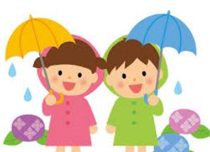 希望 ♪ 登園の 色とりどりの 傘の花  冷たい秋雨も子供には楽しかな・・・