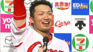 カープやんちゃ板 > 鈴木「去年に引き続き受賞できて、大変光栄に思います。ケガをし、途中 > 離脱したにも
