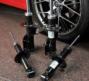 7270 - (株)SUBARU カヤバといえば自分の中では🏢ビルの免震装置より自動車用のサスのダンパーの方がイメージが強いので こん