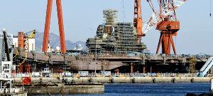 8202 - ラオックス(株) 中国空母「山東」、、、大連で建造してるやないか!!ええ加減にせえよ!!
