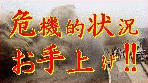 8202 - ラオックス(株) はっ、はっ、はっ、三峡ダムの、赤水は、おいしいぞおぉ~!! たっぷり、飲むがよい!!