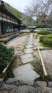 カフェ京都 こんばんは、康さん✨ 小浜にある、明通寺の中の風景です。 流石に、仏様は、撮影できませんからね。 小