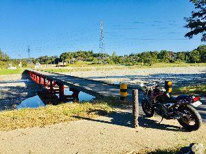 ツーリングに行こう(多摩・八王子) 今日は沈下橋までお散歩ちゅ〜          🏍=3=3=3