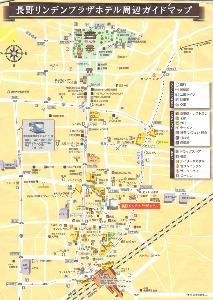 5906 - エムケー精工(株) 前に長野リンデンプラザホテルでもらった地図。(画像参照)