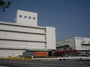 9351 - 東洋埠頭(株) 【増 強】 コンテナ好調の東扇島は川崎市の港湾整備もあり荷役機械増強へ。  木材船積み繁忙の志布志は