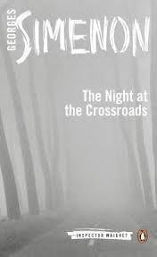 Let'sPensées! 積読の一冊、随分前に購入したものの読んでいなかったので、シメノンのメグレ警視シリーズの『深夜の十字路