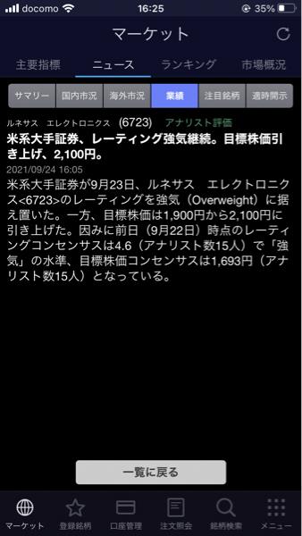 6723 - ルネサスエレクトロニクス(株) ヘイヘイヘーイ!