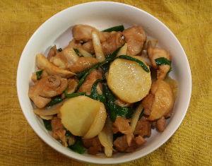 今夜のおかず ダッカルビ 韓国風の鶏焼き肉! 甘辛い味付けでご飯が進みますよ! 材料(2