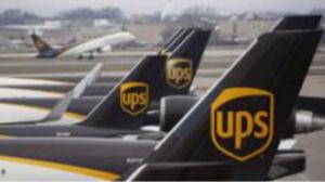 6897 - ツインバード工業(株) UPSの飛行機*⋆✈