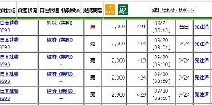 8893 - (株)新日本建物 注文照会付け忘れちゃった!!!