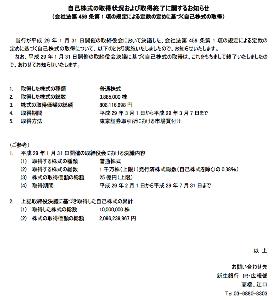 8303 - (株)新生銀行 自社株買いは3/7で終了したようです。 上限25億円なのに安かったから21億円弱で完了の模様。 平均