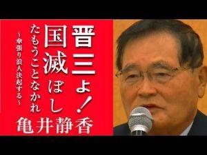 998407 - 日経平均株価 亀井静香氏さん、既に遅かった様ですね。  家電、半導体の全てを売り払ってしまった様です。