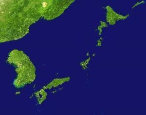 998407 - 日経平均株価 こう言うの良くやる、根性が糞ねじ曲がっている。 日本と北が沈んだ地図。