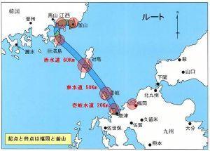 998407 - 日経平均株価 この混迷で日韓海底トンネルも怪しくなった。 中間地の対馬を買い占めたから、簡単には諦めないだろう。