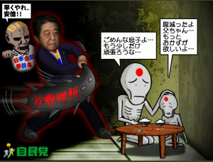 998407 - 日経平均株価 安倍晋三「えっ!国民、無視無視」