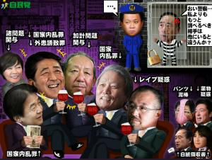 998407 - 日経平均株価 安倍晋三「国民の不幸は、俺らの蜜の味」