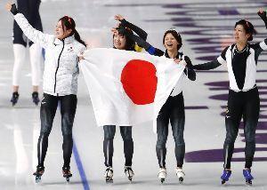 初心者の部屋 冬季オリンピックが終了した。  高木菜那 美帆姉妹 : ご両親もうれしいだろうな。 小平奈緒 : 二