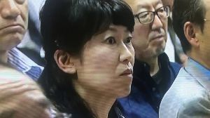 小池百合子・東京都知事 ● お待ちしてます  小池知事 ・・・