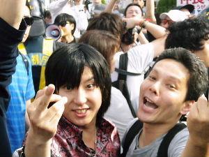 小池百合子・東京都知事 その朝鮮太郎を支援するのが、 中指障害で頭のいかれた在日コリアンのゴ ミ共(^0^) 目が完全に逝っ