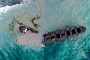 998407 - 日経平均株価 >商船三井は16日、現地時間の15日に貨物船の船体が二つに割れたと発表した。  座礁したくらいで、出