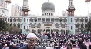 998407 - 日経平均株価 新疆のモスク