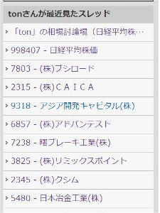 998407 - 日経平均株価 俺の出入りしてる場所がスッカリ「ヤクザ」になってしまいました^^; お母さんに怒られそうです^^;
