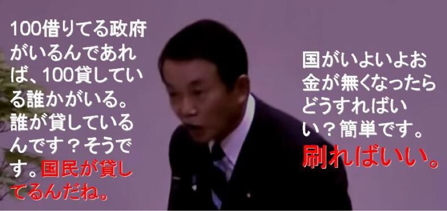 998407 - 日経平均株価 麻生太郎は昔こう言ってたのにな。