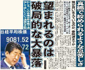 998407 - 日経平均株価    > 日経先物、暴落するようにみんなで祈りましょう! > 暴落暴落暴落暴落暴落暴落暴