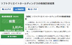 3371 - (株)ソフトクリエイトホールディングス コロナショックの1100円台て何だったんでしょうね?