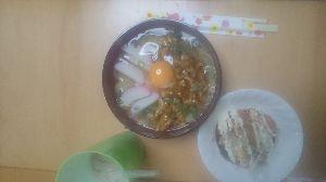 ◆書き.. アハハ  ハヤシライス🍛完食  ミトスパ🍝後1皿  今日自炊、又又  熱にゅうめん、3回分  サーモ