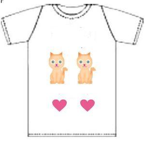 猫の祟り ノラ猫さん   ばばっちい Tシャツ いらないから   綺麗なTシャツ かいましたよ。  ノラ猫さん