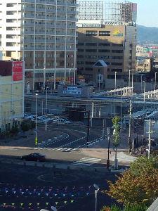 今日アスパム周辺に行く人行った人 駅前だね(^-^)