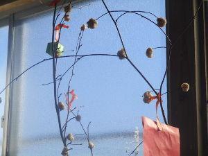 ヘボ俳句で仲間に~・ 小正月 玄米餅の 飾り木や  https://blogs.yahoo.co.jp/kuromamez