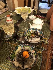 4579 - ラクオリア創薬(株) 皆さ〜ん^_^今日の夕ご飯は^_^ ドンしらす です 生シラスを四パックも買ったのに皆んなお腹いっぱ