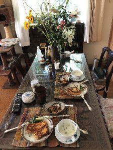 4579 - ラクオリア創薬(株) 朝はフレンチトーストだった(╹◡╹) モーニングサテライトなんかとっくに終わっている優雅なケミストの