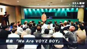 3689 - (株)イグニス we are  VOYZ BOY この曲は、PVも撮影が決まっている。この曲でCDデビューが来るのか
