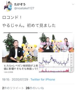 3558 - (株)ロコンド フォロワー76,000人の方のツイートです。 24年間で50億稼いだ『機関投資家』さま。