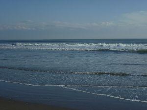 どこか行きたい・・・・ 波の感じ