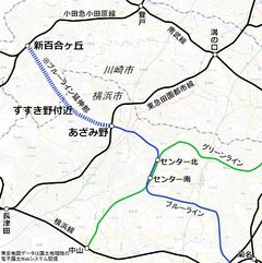 小田急電鉄-Odakyu- 横浜地下鉄ブルーライン延伸   http://www.city.yokohama.lg.jp/tos