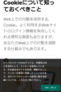 6579 - ログリー(株)  止めてくれー!!!!  ウィルス対策ソフトの、 カスペルスキーのサイトを開いたら、cookieに同
