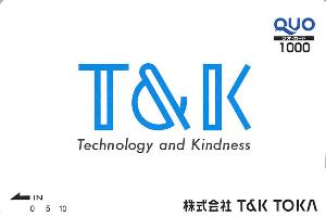 4636 - (株)T&K TOKA 【 株主優待 到着 】 (100株) 1,000円クオカード ※図柄は毎年、一緒です -。