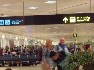 ケニヤでサファリ 飛行機は 日本を目指して 出発します。  あっという間の出来事でした。