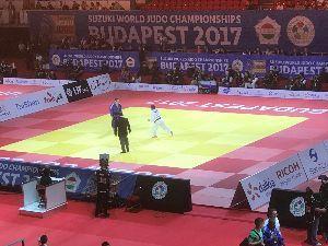 BOOWY大好き掲示板! 2017年ブダペスト世界柔道選手権大会  男子60kg永山竜樹  2回戦 一本勝ち
