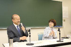 NHKラジオ第一の鎌田アナについて語ろう! 16年4月25日、京都で鎌坪商店の復活イベント。 懲りもせず参加してきました。