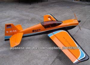模型飛行機 F139 Sbach 342 50cc 翼長:86.6in/2700mm; 翼面積:94sq.dm